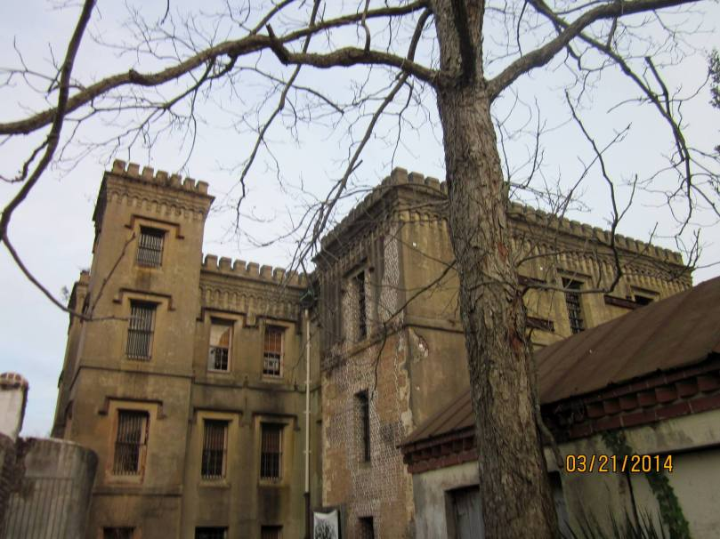 The Old City Jail - I took a  tour through here on evening thanks to Bulldog tours.